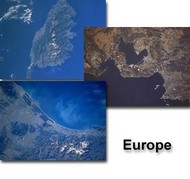 From Space to Earth - Europe Screen Saver screenshot